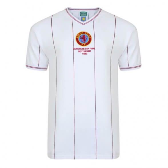 Maillot rétro Aston Villa 1982 Champions d