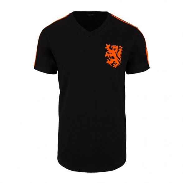 Tee Shirt Pays-Bas 1974   Noir