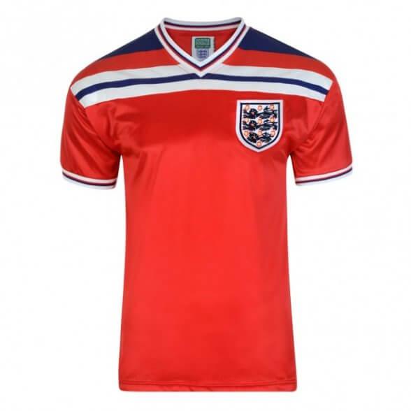 Maillot rétro Angleterre 1982 - extérieur