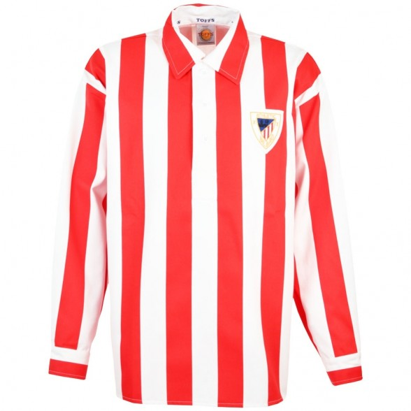 Maillot retro Athletic Bilbao années 50