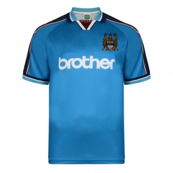 Maillot rétro Manchester City 1998