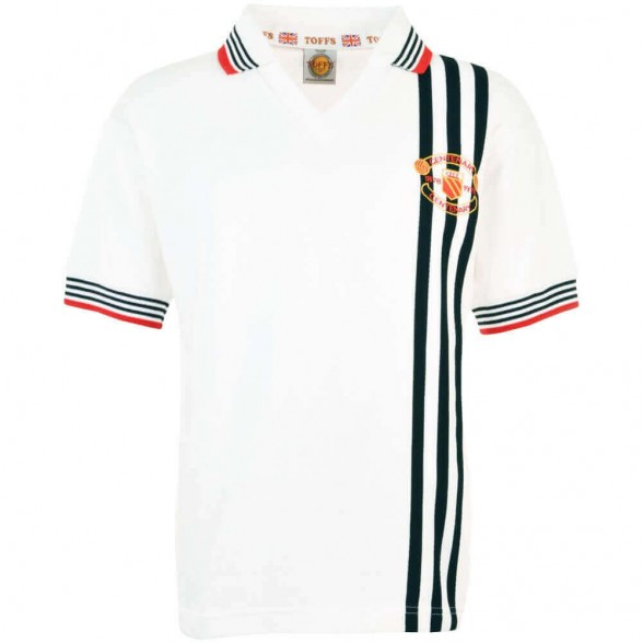 Maillot rétro Manchester United 1978 Centenary Away
