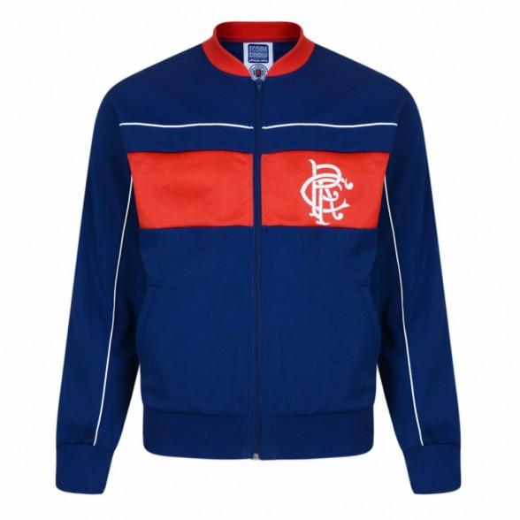 Veste rétro Glasgow Rangers 1984
