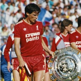 Maillot rétro Liverpool 1986 FA Cup Winners