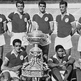 Maillot rétro SL Benfica 1962 - 63