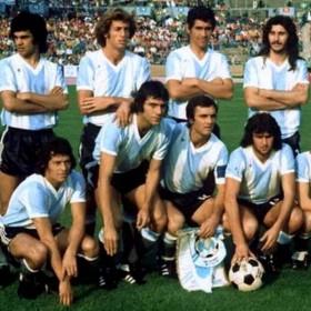 Maillot rétro Argentina 1974