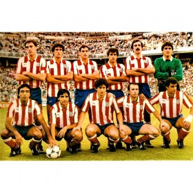 Atletico Madrid 1985-86 retro shirt
