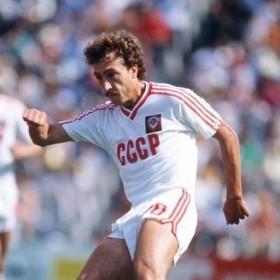 Maillot rétro CCCP URSS a l'exterieur 1986