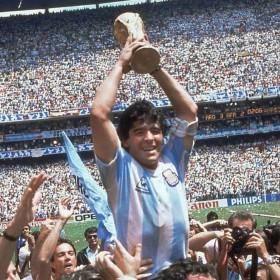 Maillot rétro Argentina 86