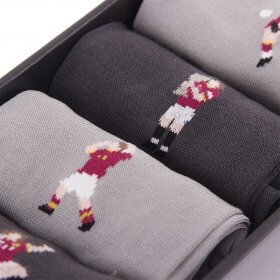 Detail AS Roma Casual Socks Box Set