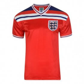 Maillot rétro Angleterre 1982 - extérieur