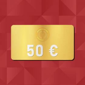 50€ Gift Card - Retrofootball®