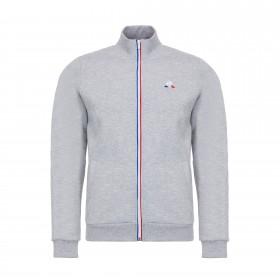 Essentiels Full Zip Sweatshirt | Grey